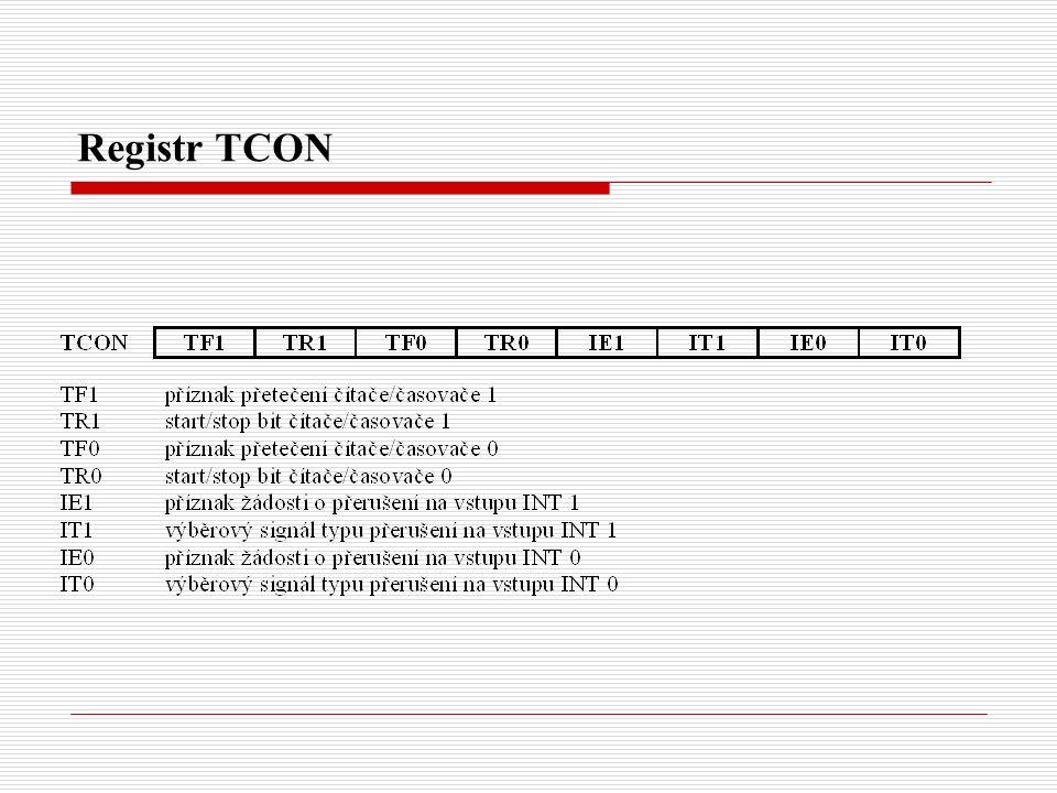 Registr TCON
