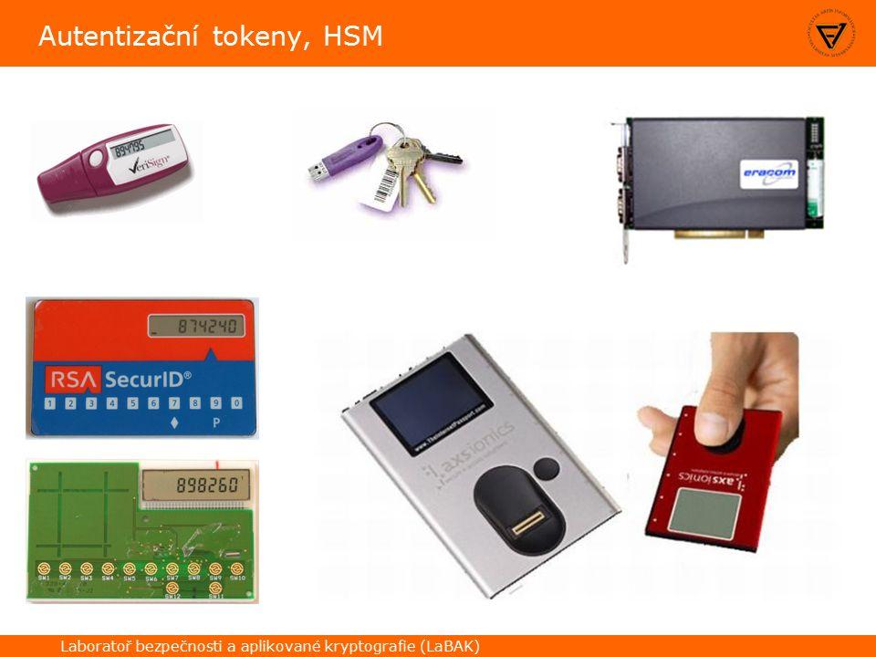 Laboratoř bezpečnosti a aplikované kryptografie (LaBAK) Autentizační tokeny, HSM