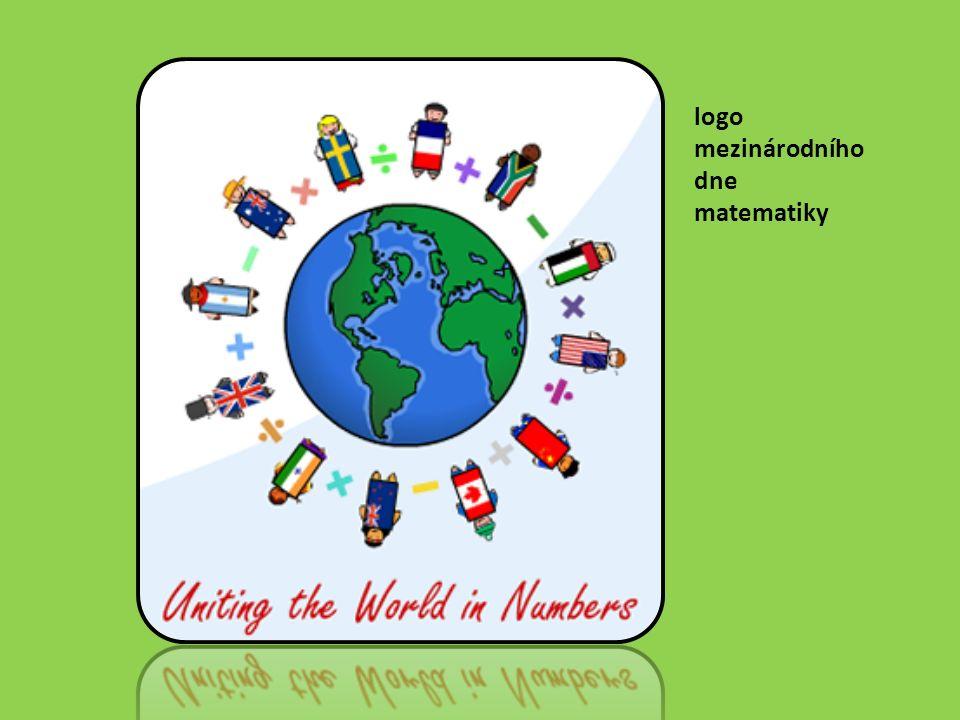 logo mezinárodního dne matematiky