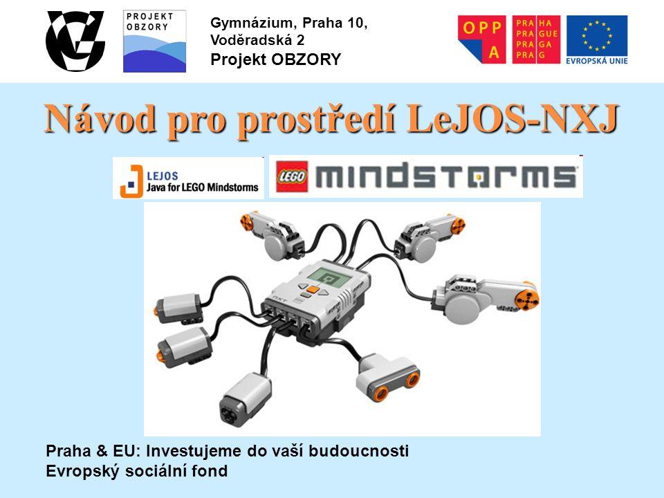 Obrázek 5: Ukázka vytvoření NXJ projektu v NetBeans