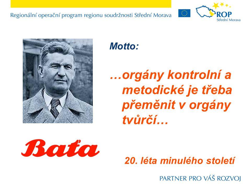 Motto: …orgány kontrolní a metodické je třeba přeměnit v orgány tvůrčí… 20. léta minulého století