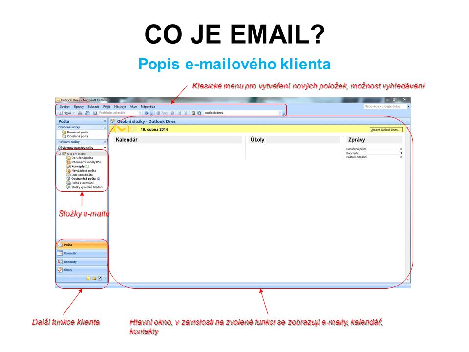 CO JE EMAIL.