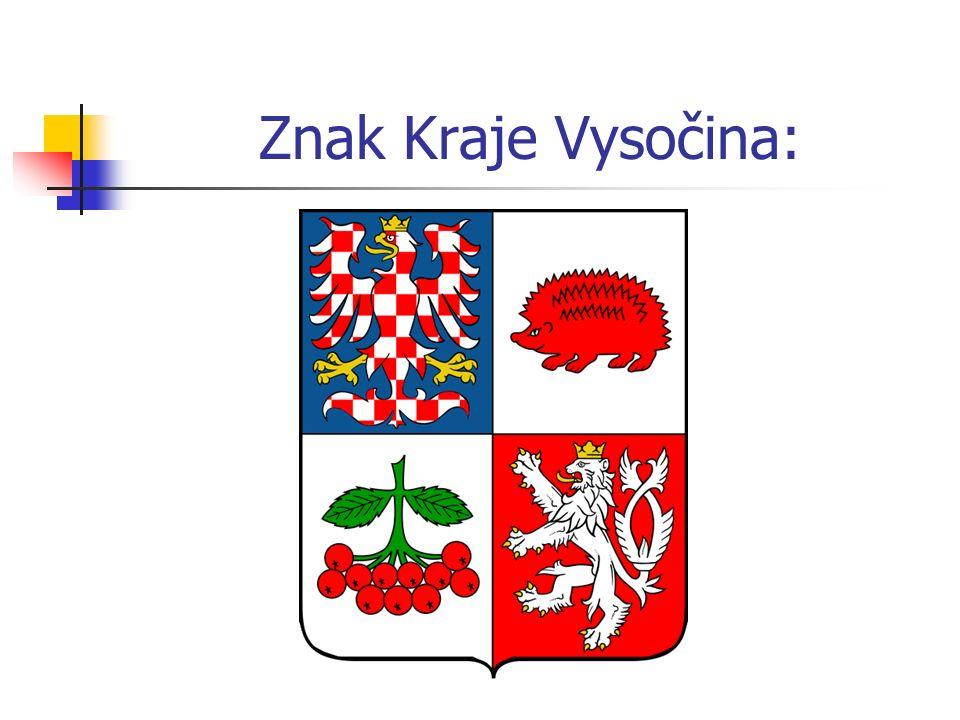 Znak Kraje Vysočina: