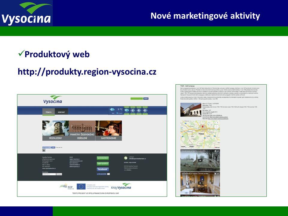 27.9.2016 10 Nové marketingové aktivity Produktový web http://produkty.region-vysocina.cz