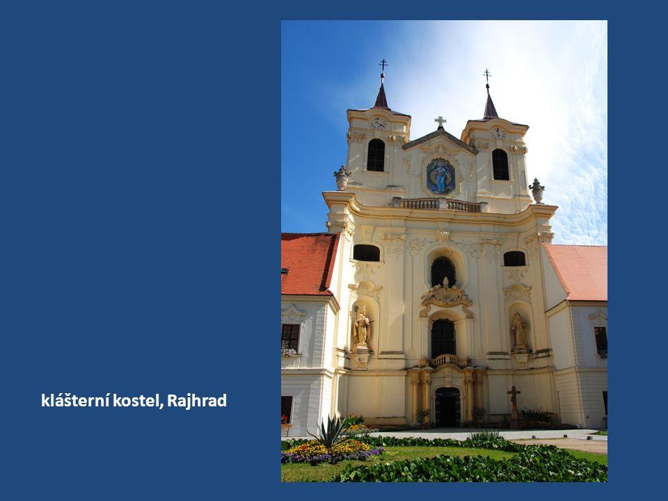 klášterní kostel, Rajhrad