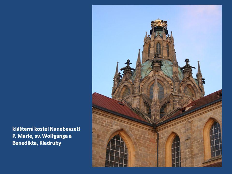 klášterní kostel Nanebevzetí P. Marie, sv. Wolfganga a Benedikta, Kladruby