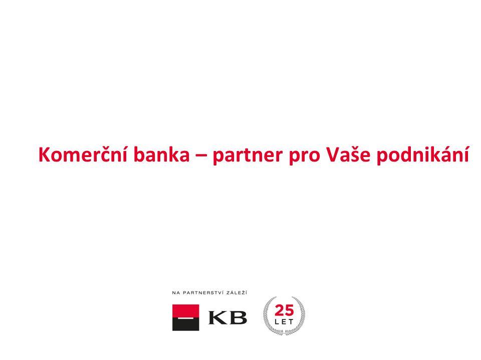 | Na aktuální rostoucí chuť inovovat a rozvíjet podnikání reaguje banka nabídkou produktů a služeb, které si klienti přizpůsobí svým potřebám.