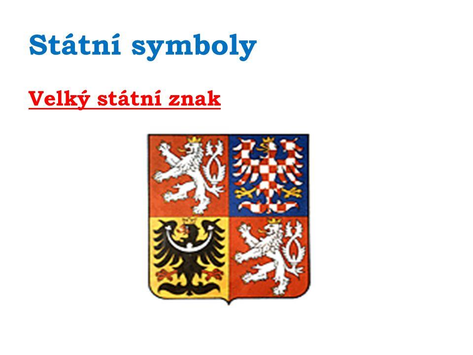 Státní symboly Velký státní znak