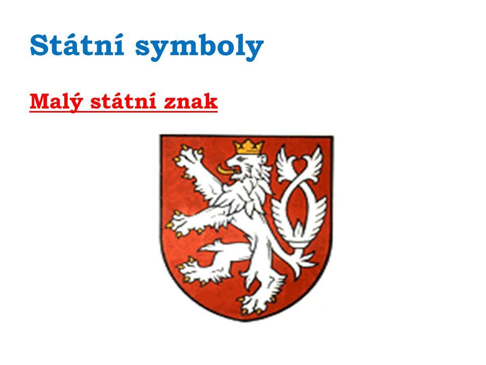 Státní symboly Státní vlajka