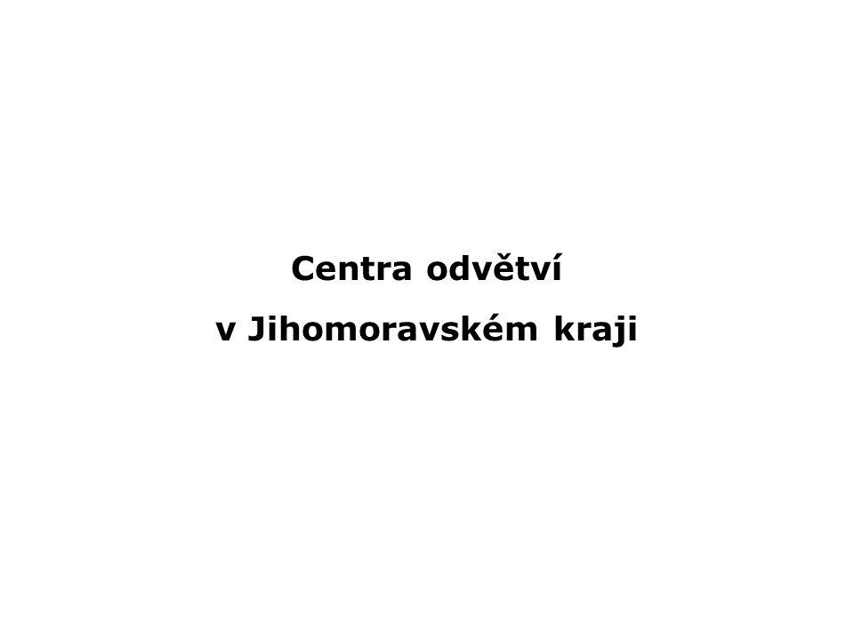 Centra odvětví v Jihomoravském kraji
