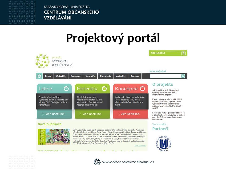 Projektový portál