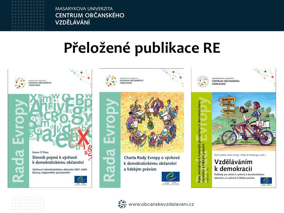 Přeložené publikace RE