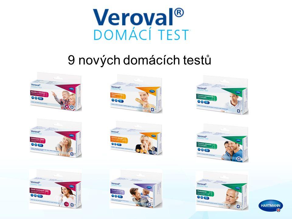 9 nových domácích testů