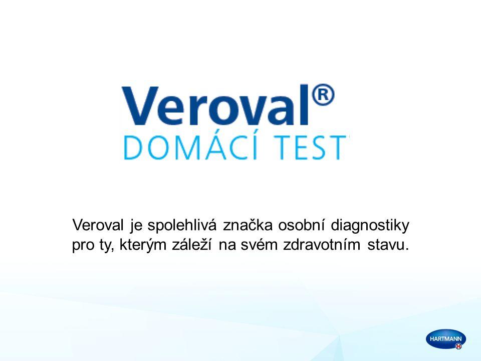 Veroval je spolehlivá značka osobní diagnostiky pro ty, kterým záleží na svém zdravotním stavu.