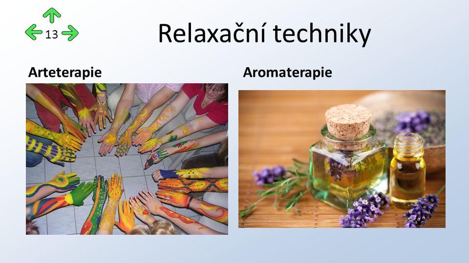 Relaxační techniky ArteterapieAromaterapie 13