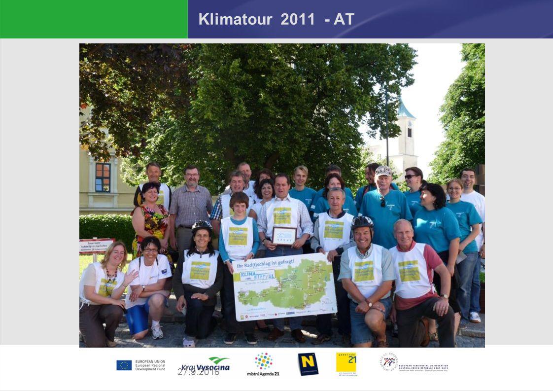 27.9.2016 Klimatour 2011 - AT