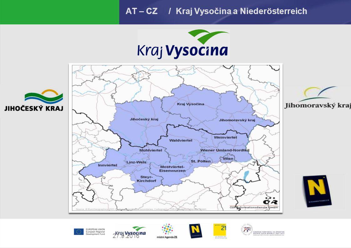 27.9.2016 AT – CZ / Kraj Vysočina a Niederösterreich
