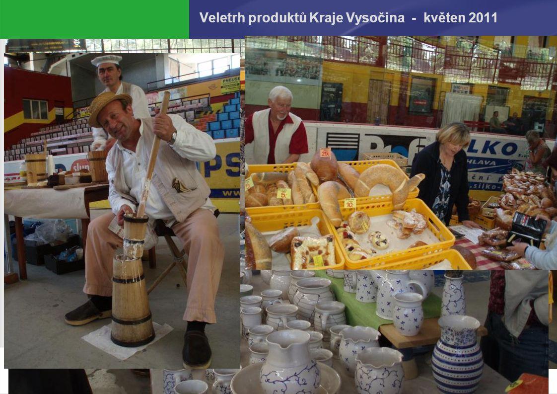 27.9.2016 Veletrh produktů Kraje Vysočina - květen 2011