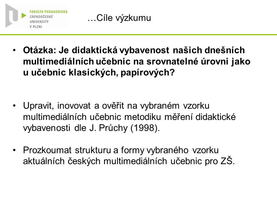 … Úprava a inovace metodiky směrem k novým médiím Metoda J.
