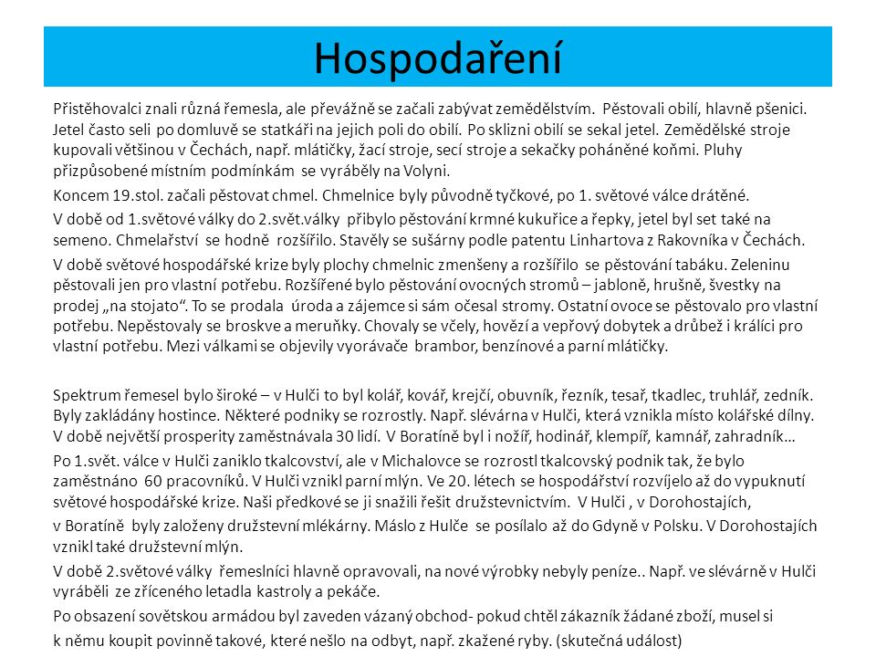 Hospodaření Historie Českého Boratína, Vlk, Josef, Vlk Vladislav, Vlková, Anna, 1.vyd., Ústí n.L., Forte 2000, s.54