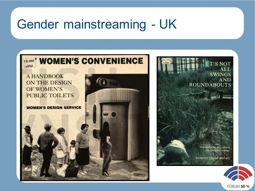 Gender mainstreaming - UK