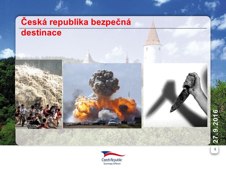 6 27.9.2016 Česká republika bezpečná destinace