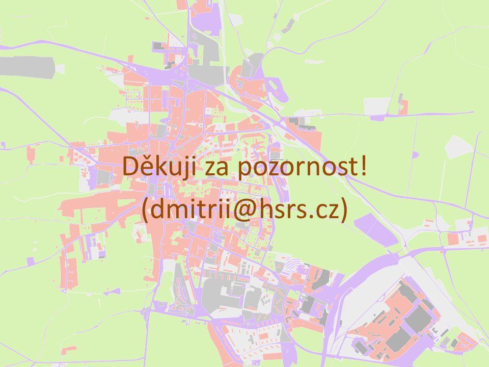 Děkuji za pozornost! (dmitrii@hsrs.cz)
