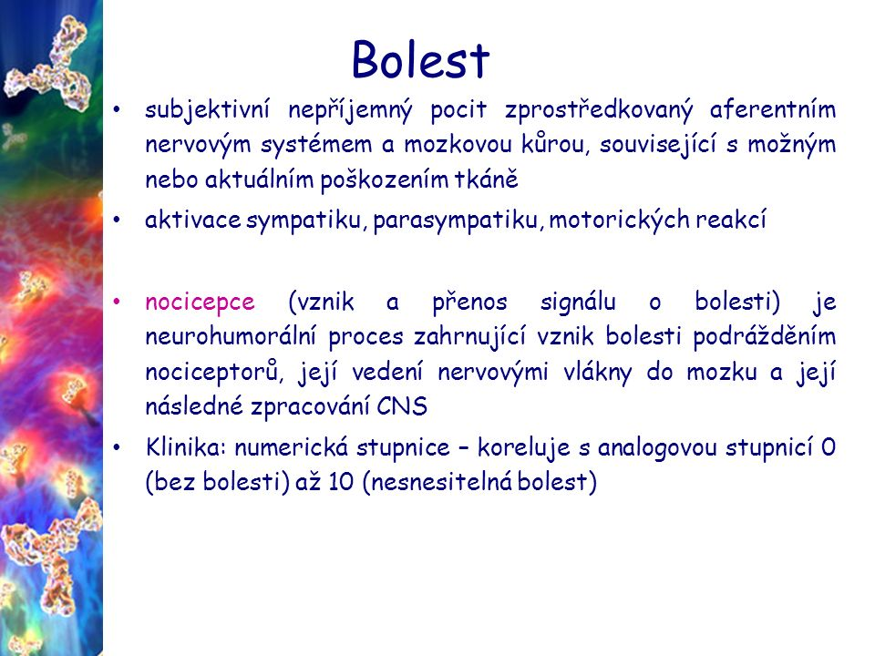 Bolest Prostaglandiny Paracetamolum, ibuprofenum, kys. acetylsalicylová