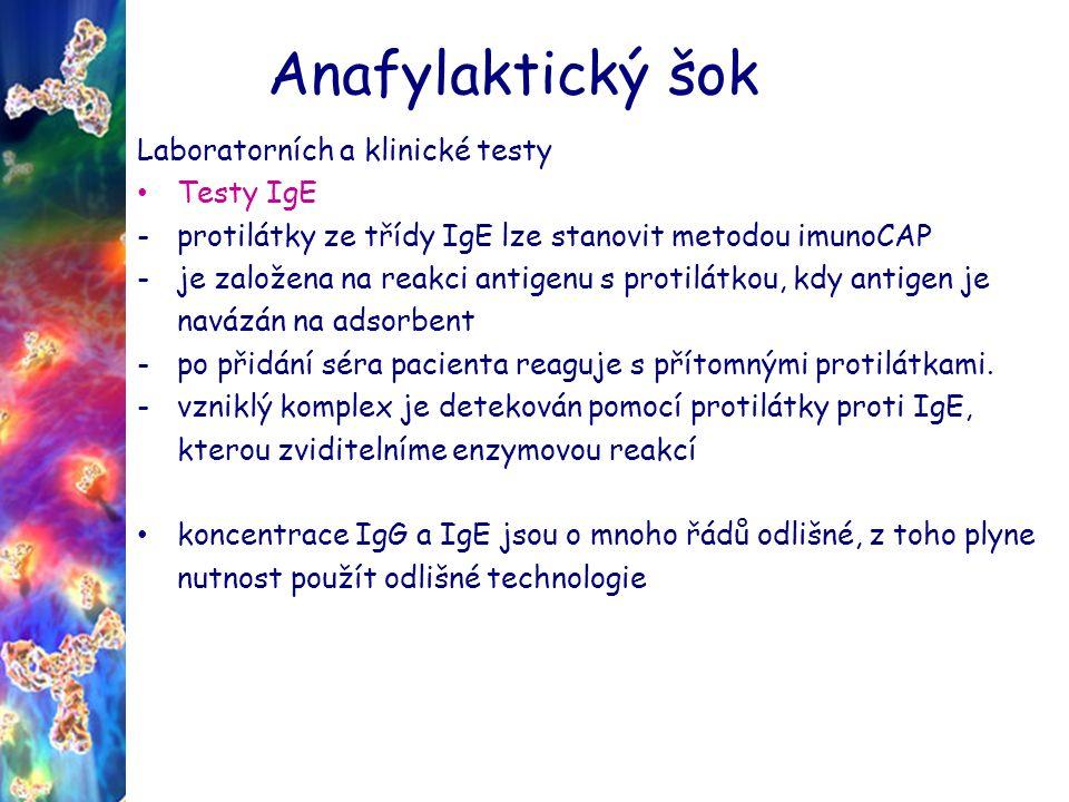 Anafylaktický šok Jaké jsou základní postupy při první pomoci při anafylaxi.