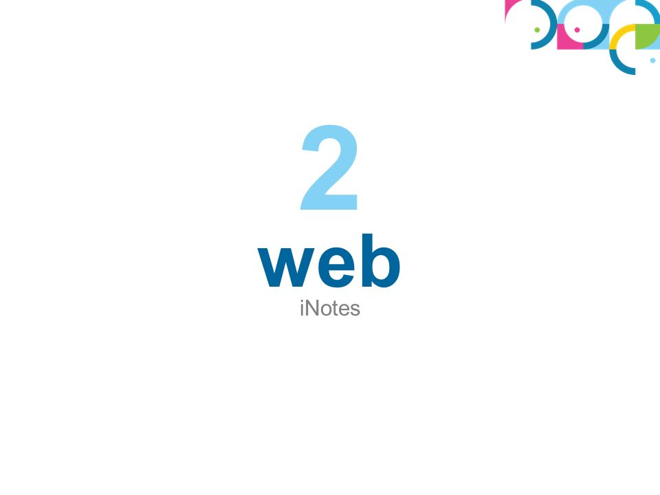 web iNotes 2