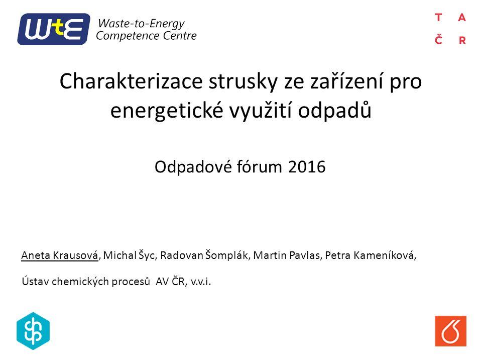 V ČR 160 – 170 tis. tun strusky ročně Struska