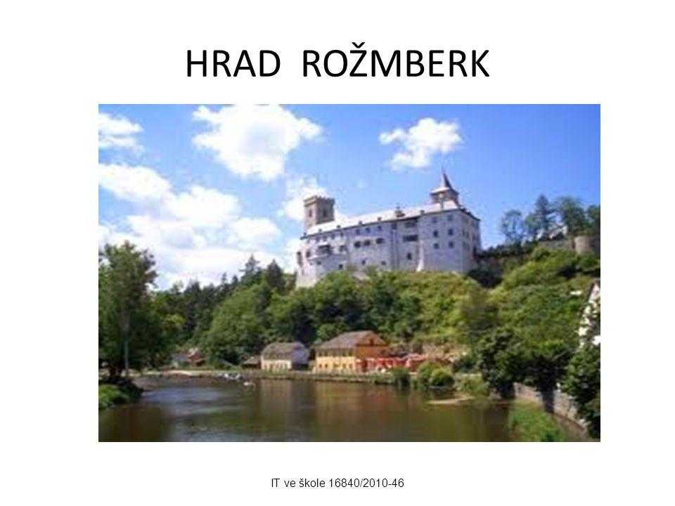 HRAD ROŽMBERK IT ve škole 16840/2010-46