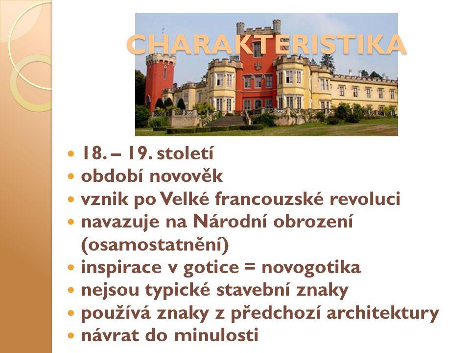 CHARAKTERISTIKA 18. – 19.