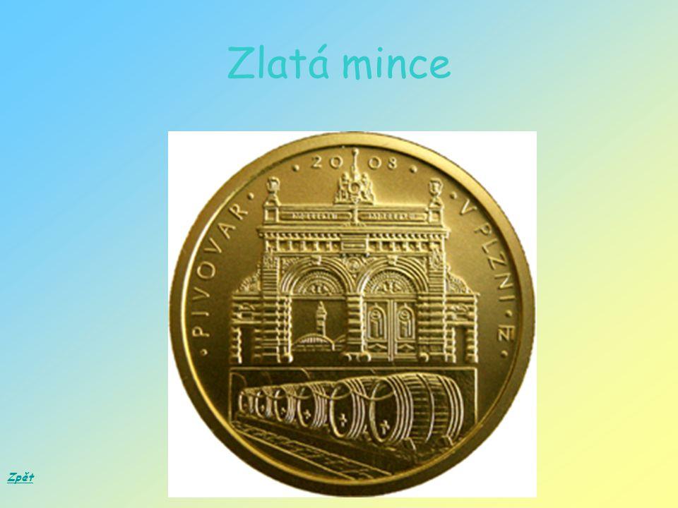 Zlatá mince Zpět