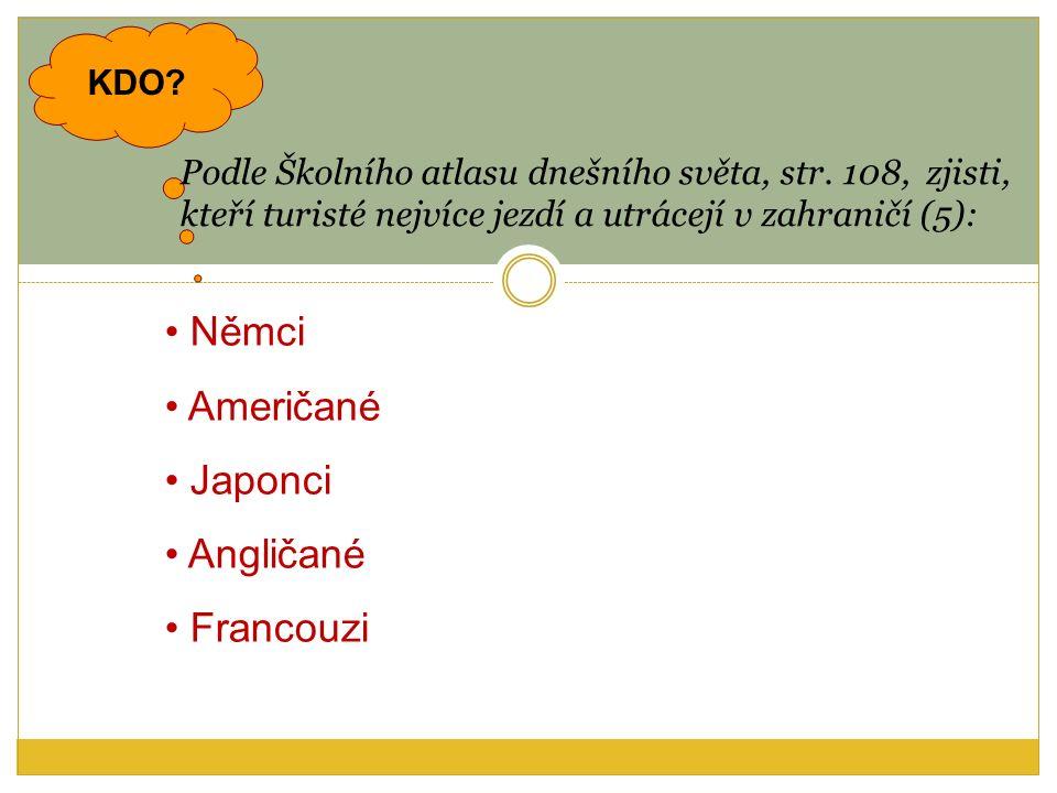 KDO. Podle Školního atlasu dnešního světa, str.