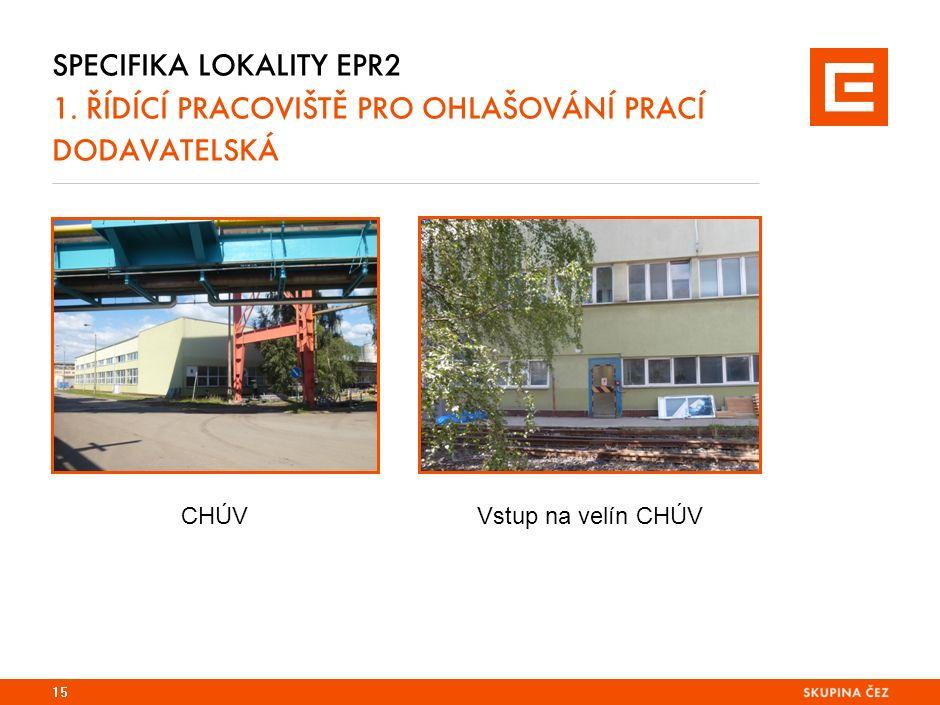 SPECIFIKA LOKALITY EPR2 1.