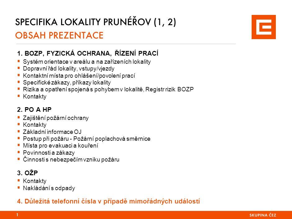 SPECIFIKA LOKALITY PRUNÉŘOV 4.