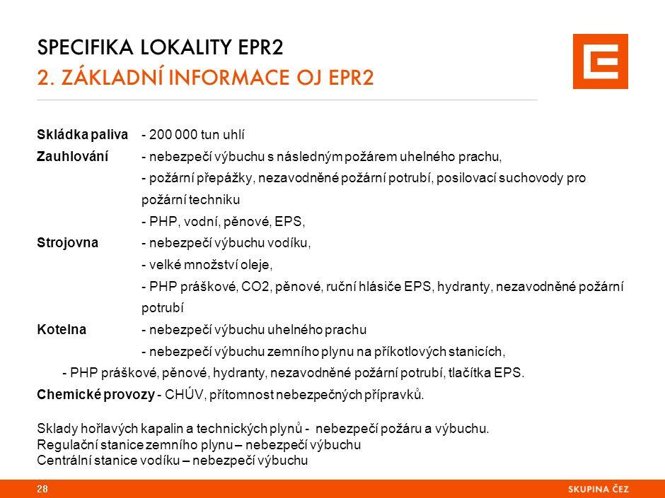 SPECIFIKA LOKALITY EPR2 2.