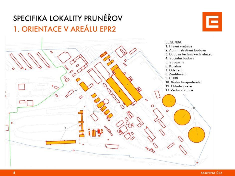 SPECIFIKA LOKALITY PRUNÉŘOV 1 (EPR 1) 1.