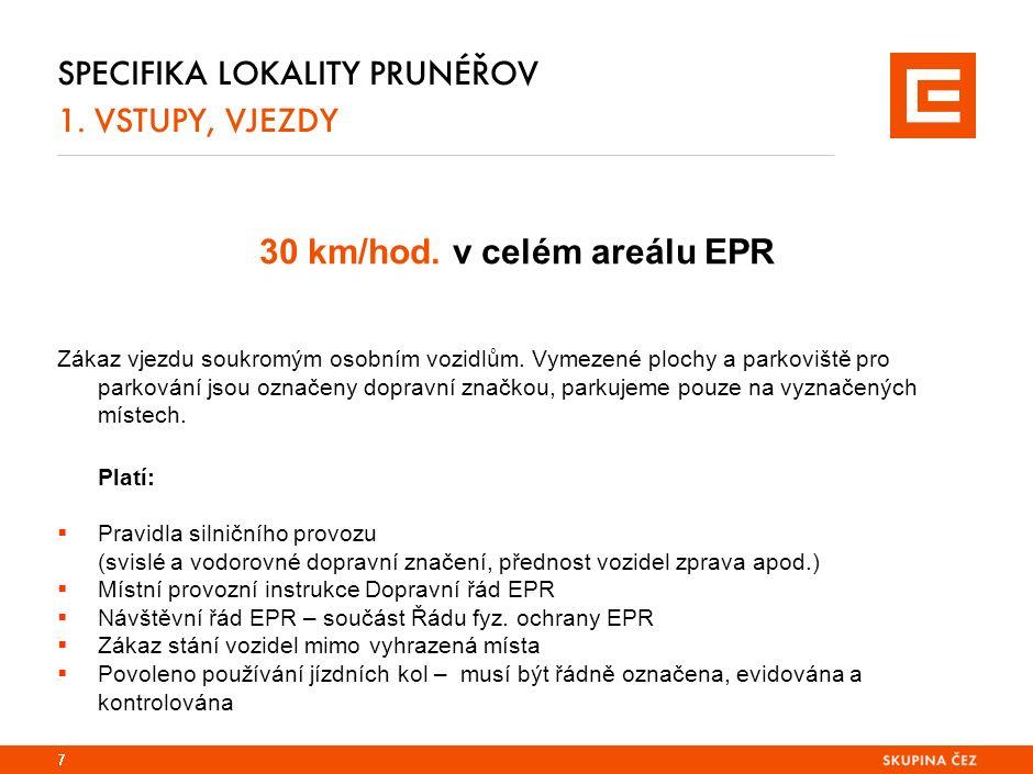 38 SPECIFIKA LOKALITY PRUNÉŘOV 3.