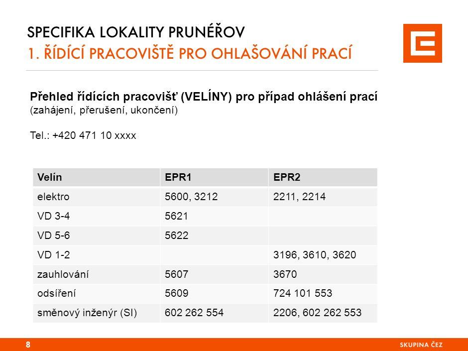 SPECIFIKA LOKALITY EPR 2.