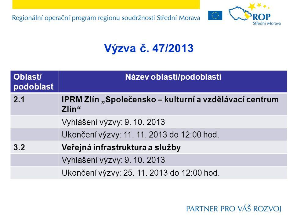 3.2 Veřejná infrastruktura a služby Aktivity: D.