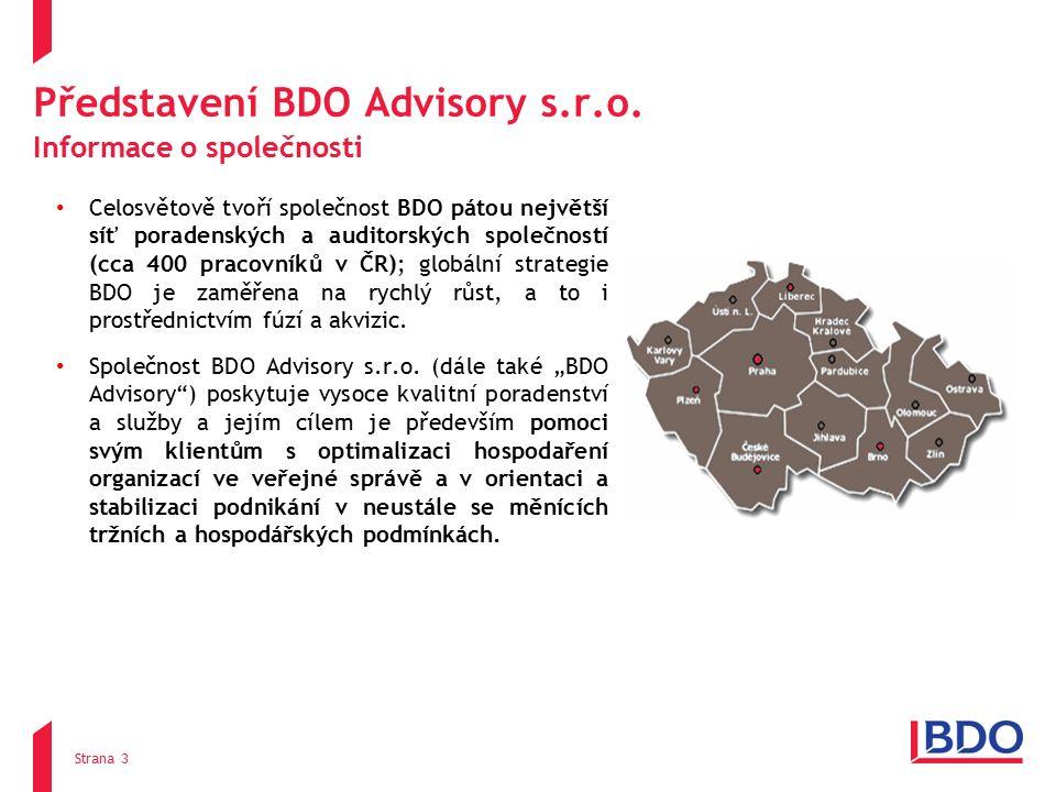 Představení BDO Advisory s.r.o.
