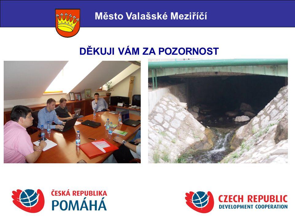 Město Valašské Meziříčí DĚKUJI VÁM ZA POZORNOST