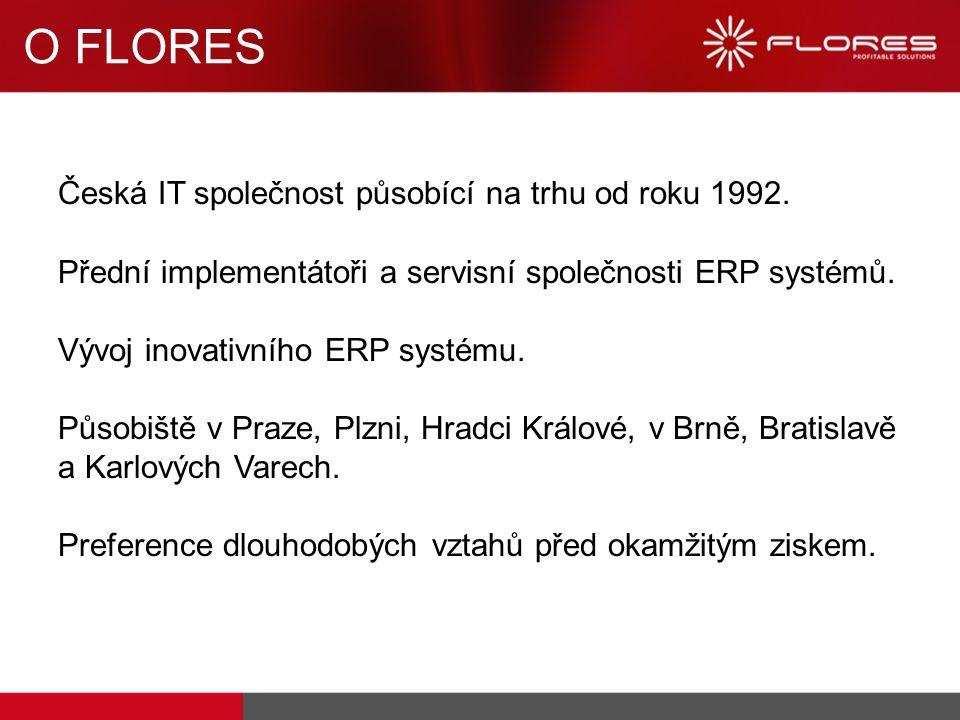 Česká IT společnost působící na trhu od roku 1992. Přední implementátoři a servisní společnosti ERP systémů. Vývoj inovativního ERP systému. Působiště