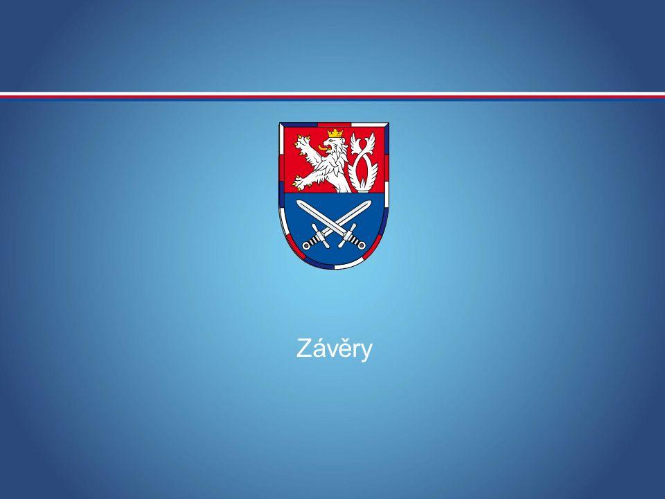 MINISTERSTVO OBRANY ČR Závěry