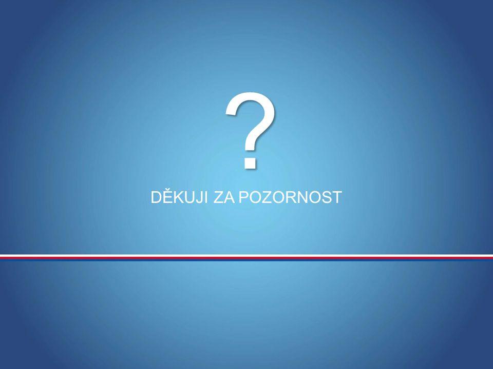 MINISTERSTVO OBRANY ČR DĚKUJI ZA POZORNOST