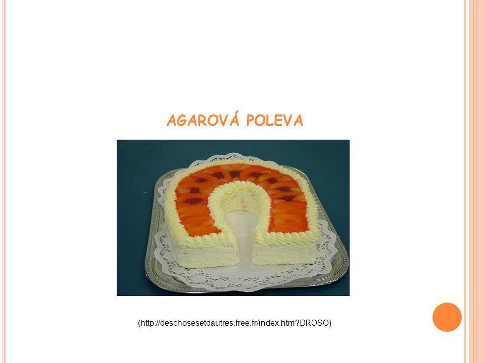 AGAROVÁ POLEVA (http://deschosesetdautres.free.fr/index.htm DROSO)