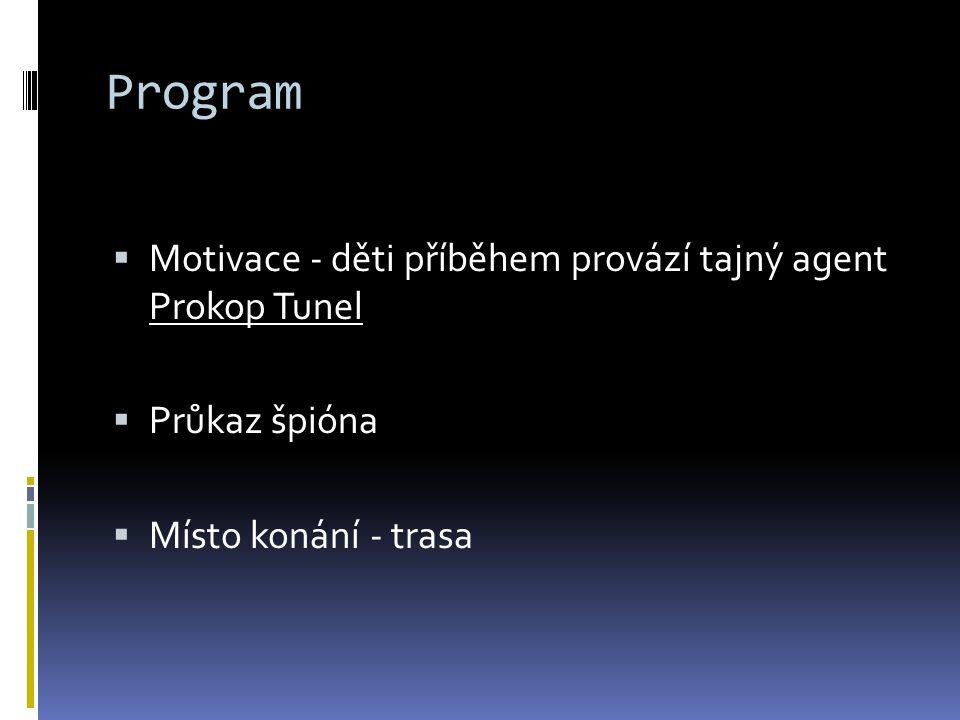 Program  Učitelé, vychovatelé a dobrovolníci z 9. ročníků  Skupinky po 4-5 + starší spolužák