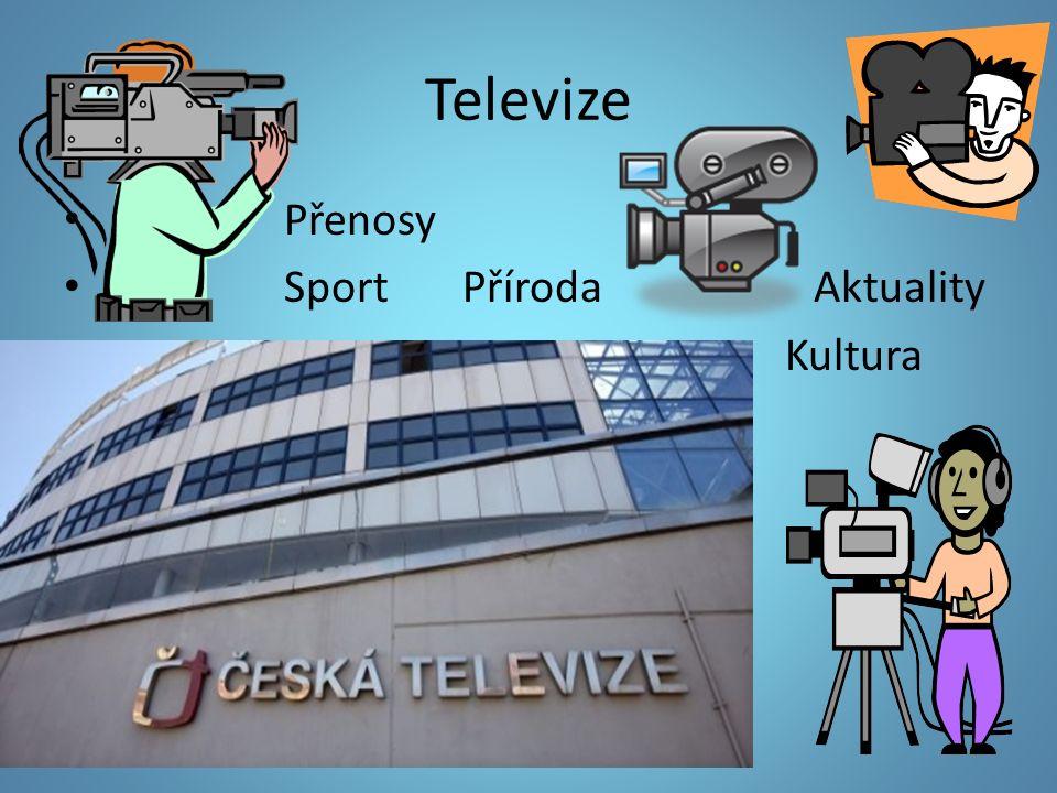 Televize Přenosy Sport Příroda Aktuality Kultura